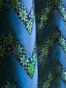 Santa Maria La Nuova Duomo Cloisters and Mosaics, Monreale, Sicily, Italy by Walter Bibikow