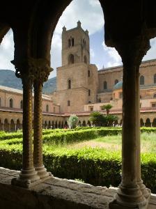 Santa Maria La Nuova Duomo, Monreale, Sicily, Italy by Walter Bibikow