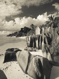 Seychelles, La Digue Island, L'Union Estate Plantation, Anse Source D'Argent Beach by Walter Bibikow