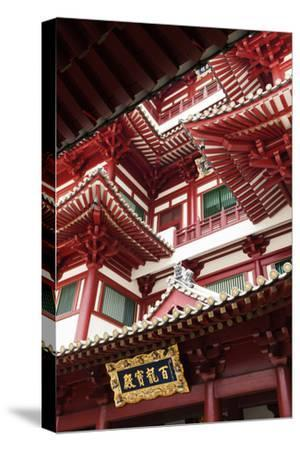 Singapore, Chinatown, Buddha Tooth Relic Temple, Exterior Detail
