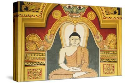 Singapore, East Singapore, Mangala Vihara Buddhist Temple, Buddha Mural