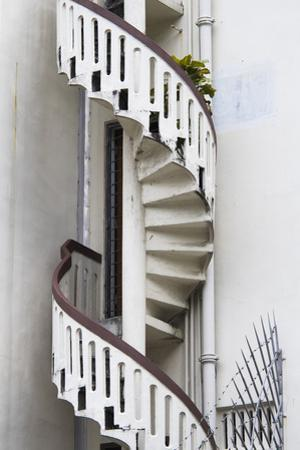 Singapore, Traditional Shophouse Architecture, Spiral Stairs