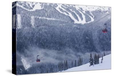 Skiing Gondola, Whistler to Blackcomb, British Columbia, Canada