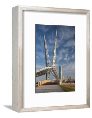 Skydance Footbridge over Highway I-40, Oklahoma City, Oklahoma, USA