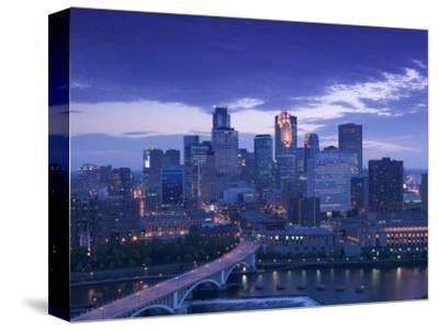Skyline of Minneapolis, Minnesota, USA