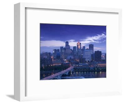 Skyline of Minneapolis, Minnesota, USA