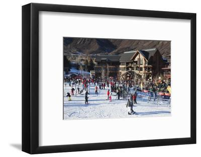 Snowmass Village, Snowmass Village Ski Area, Colorado, USA