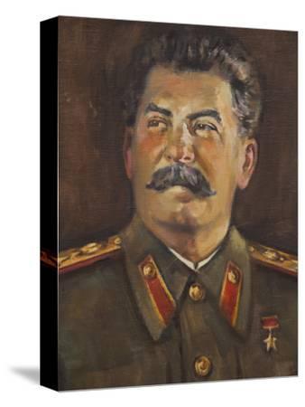 Soviet-Era Art, M.J.V. Stalin By Johannes Saal, 1952, Art Museum of Estonia, Tallinn, Estonia