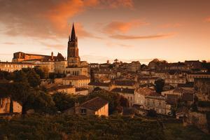 St-Emilion, Wine Town by Walter Bibikow