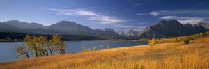 St. Mary Lake, Glacier Nat. Park, Montana, USA by Walter Bibikow