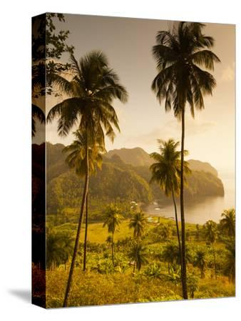 St. Vincent and the Grenadines, St. Vincent, Leeward Coast, Chateaubelair, Elevated Coastal View