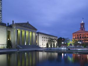 State Capitol and War Memorial Auditorium, Nashville, Tennessee, USA by Walter Bibikow