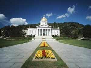 State Capitol Building, Montpelier, Vermont, USA by Walter Bibikow