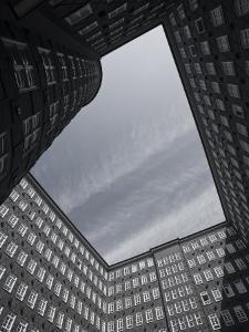 State of Hamburg, Hamburg, Merchant District, Sprinkenhof Office Building, Germany by Walter Bibikow