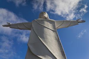 Statue of Christ of the Ozarks, Eureka Springs, Arkansas, USA by Walter Bibikow