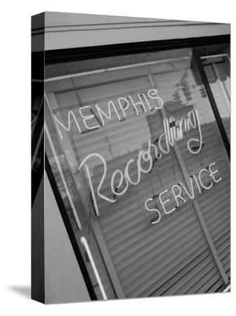 Sun Studios, Site of the First Recording of Elvis Presley, Memphis, Tennessee, USA