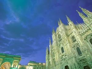 The Duomo, Lombardia, Milan, Italy by Walter Bibikow