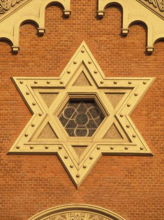 The Great Synagogue of Plzen, Czech Republic by Walter Bibikow