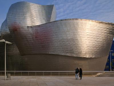 The Guggenheim Museum, Bilbao, Spain by Walter Bibikow