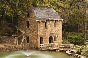 The Old Mill, Gone with the Wind, Little Rock, Arkansas, USA by Walter Bibikow