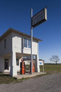 The Original Lucille's Route 66 Roadhouse, Hydro, Oklahoma, USA by Walter Bibikow