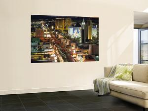 The Strip, Las Vegas, Nevada, USA by Walter Bibikow
