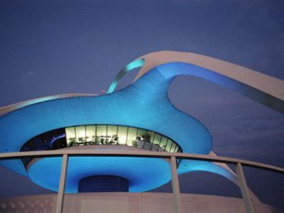 The Theme Building, Los Angeles Airport, Lax by Walter Bibikow