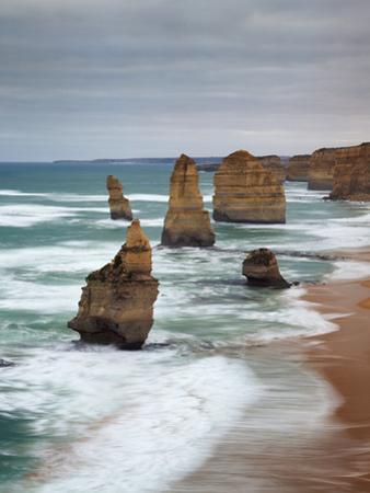 The Twelve Apostles, Port Campbell, Victoria, Australia by Walter Bibikow