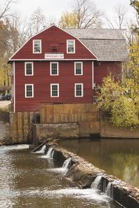 The War Eagle Mill, Old Gristmill, War Eagle, Arkansas, USA by Walter Bibikow