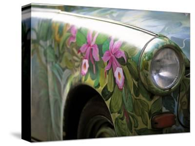 Trabant Car, Berlin, Germany