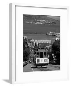 Tram, Hyde St, San Francisco, California, USA by Walter Bibikow
