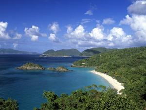 Trunk Bay, St. John, Us Virgin Islands, Caribbean by Walter Bibikow