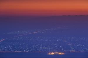 UAE, Al Ain. Jabel Hafeet, Al Ain's mountain by Walter Bibikow