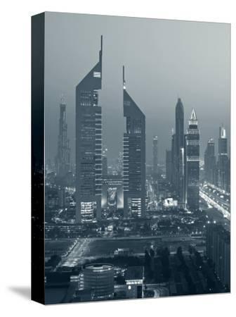United Arab Emirates, Dubai, Sheik Zayed Road, Emirates Towers