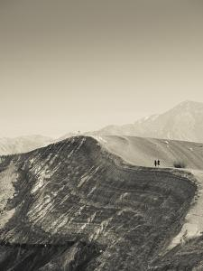 USA, California, Death Valley National Park, Ubehebe Meteor Crater by Walter Bibikow