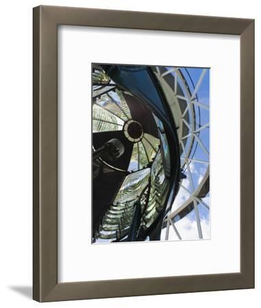 USA, Florida, Jupiter, Jupiter Inlet Lighthouse, Detail of the Fresnel Lens
