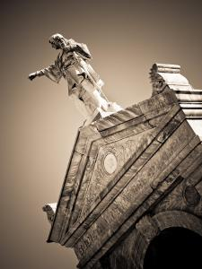 USA, Louisiana, New Orleans-Area, Metarie, Metairie Cemetery by Walter Bibikow