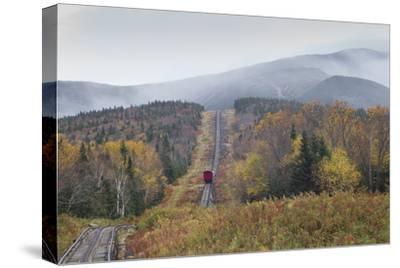 USA, New Hampshire, White Mountains, Bretton Woods, Mount Washington Cog Railway