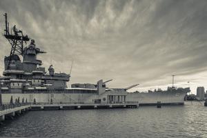 USA, New Jersey, Camden, Battleship Uss New Jersey, Bb62 by Walter Bibikow