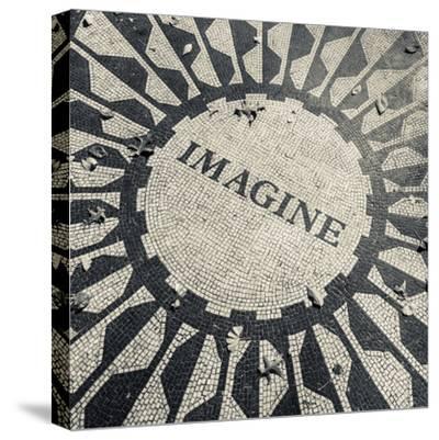 USA, New York, City, Central Park, John Lennon Memorial, Imagine