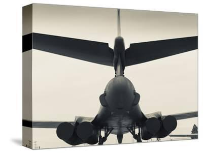 USA, South Dakota, Rapid City, South Dakota Air and Space Museum, USAF B-1B, Bomber
