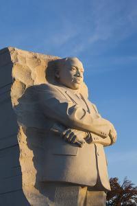 USA, Washington Dc, Martin Luther King Memorial, Sunrise by Walter Bibikow