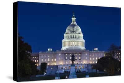 Usa, Washington Dc, Us Capitol, Dusk
