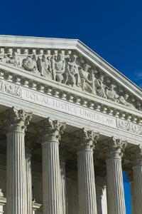 USA, Washington Dc, Us Supreme Court, Exterior by Walter Bibikow