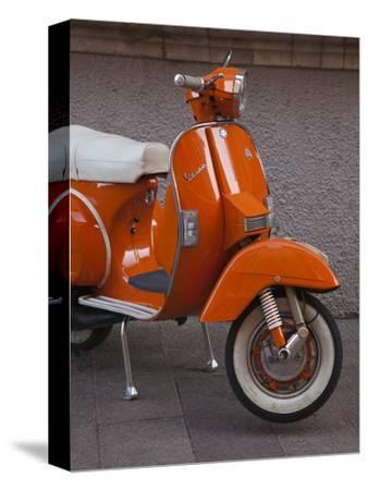Vespa Scooter, Llanes, Spain