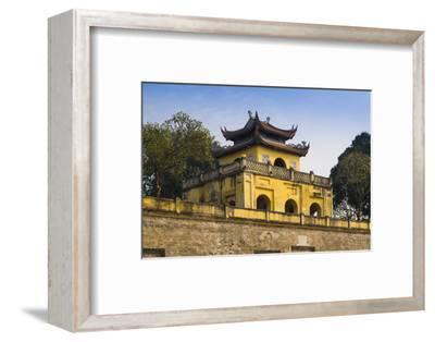Vietnam, Hanoi. Imperial Citadel, Gate