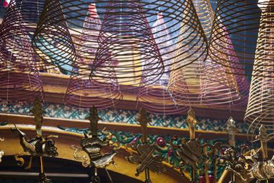 Vietnam, Ho Chi Minh City. Cholon, Chinatown Area, Phuoc an Hoi Quan Pagoda, Interior