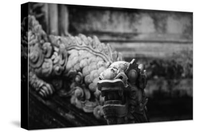 Vietnam, Hue, Royal Library Dragon Gargoyle, Close-Up