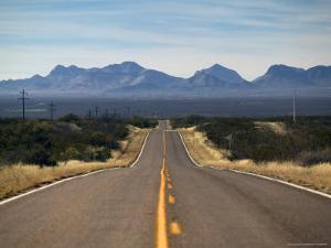 View of Highway 82, Tombstone, AZ by Walter Bibikow