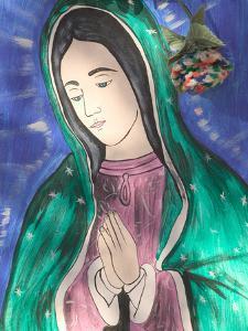 Virgin of Guadaloupe, Chimayo, New Mexico, USA by Walter Bibikow